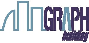 Landscape graph building logo